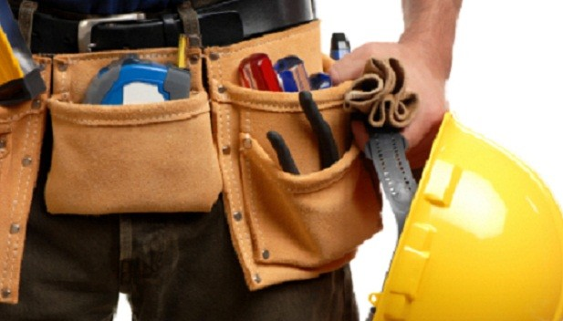 Handyman on the scene