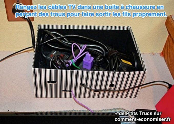 3 astuces d co pour vos c bles et prises lectrique - Rangement cables electriques ...