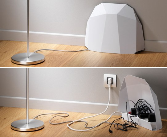 3 astuces d co pour vos c bles et prises lectrique - Comment cacher les cables tv mur ...
