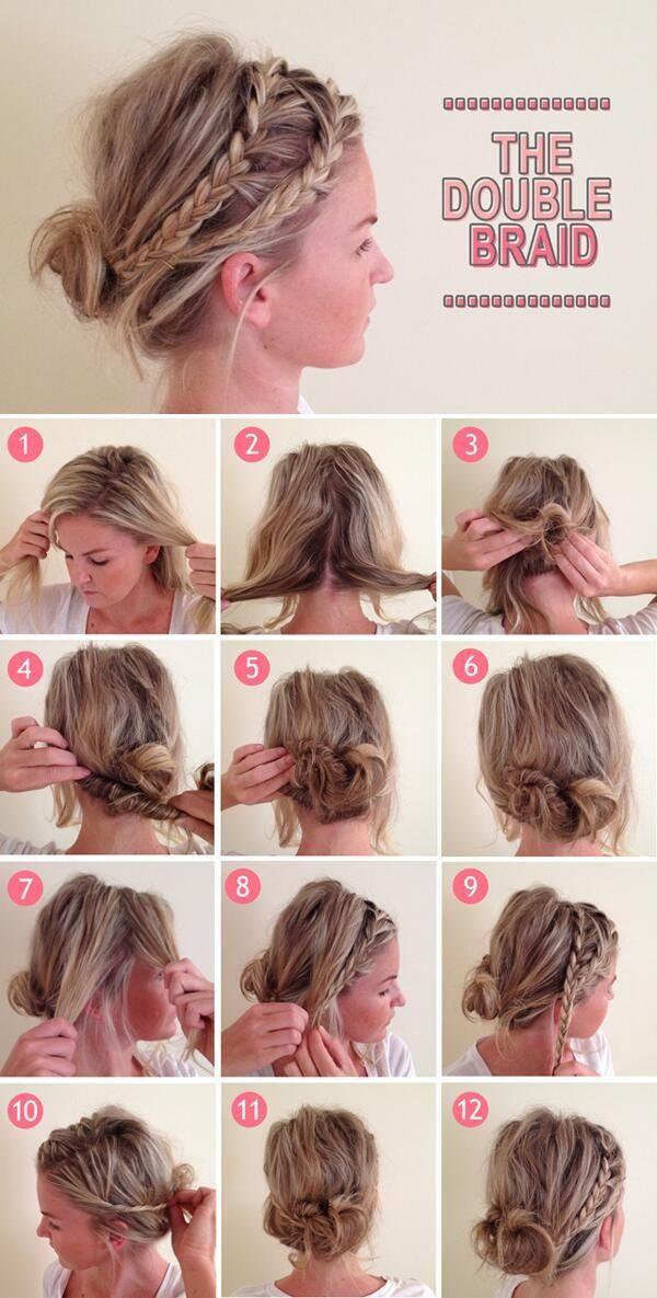 Les coiffures à base de tresses. f327e9c7d5b1e97773e4e3882b251ddf