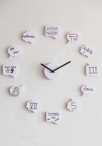 15 id es fabuleuses d horloges diy astuces de filles - Relojes para decorar paredes ...