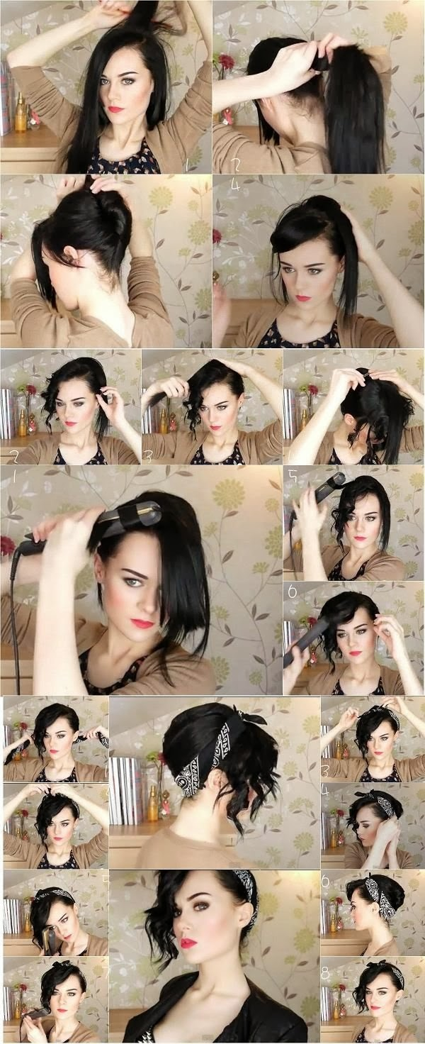 coiffure-facile- faire-seule