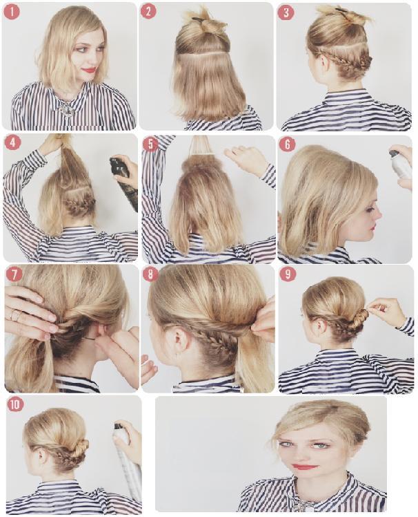 Comment faire coiffure cheveux court