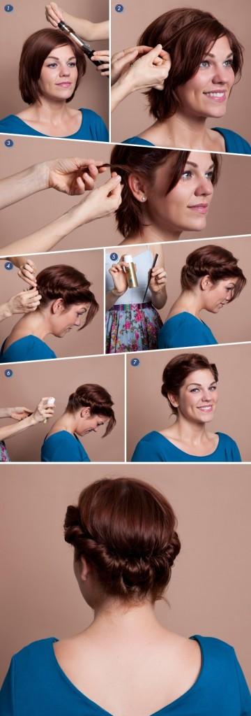 Coiffure Avec Un Headband Cheveux Court