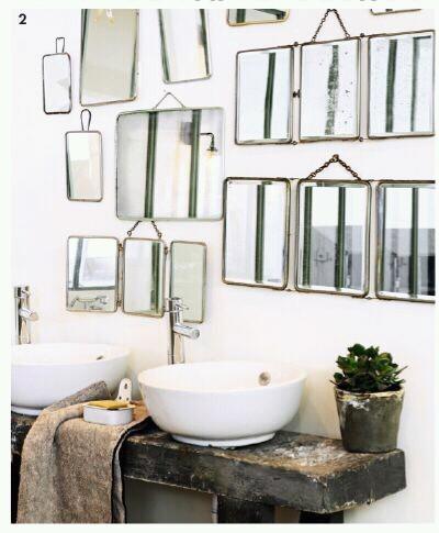 10 id es d coration originales pour votre salle de bain astuces de filles for Idee deco spiegel