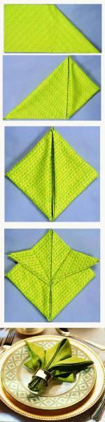 10 Pliage serviette
