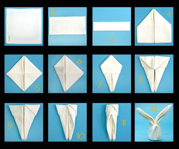 12 Pliage serviette