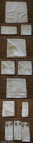 14 Pliage serviette