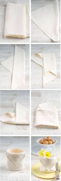 15 Pliage serviette