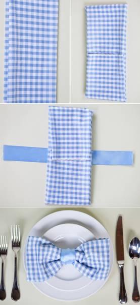 3 Pliage serviette