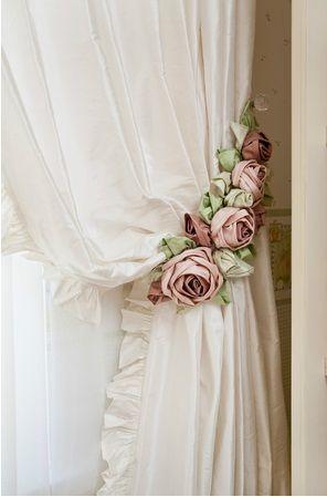 10 tops id es pour une d coration romantique astuces de filles - Rideaux style cottage ...