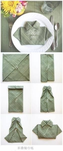 6 Pliage serviette