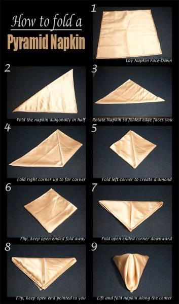 7 Pliage serviette