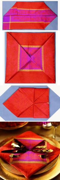 9 Pliage serviette