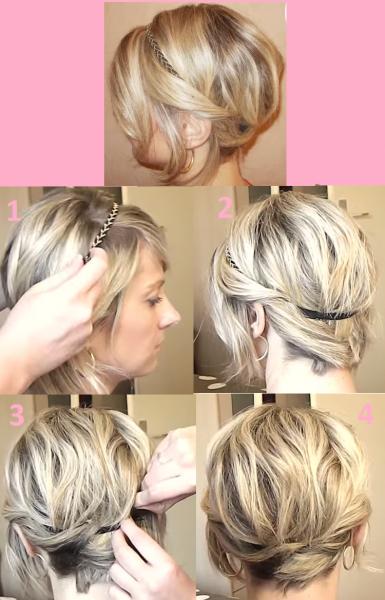 coiffure avec un carre