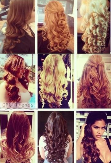 coiffure tresse cheveux boucles