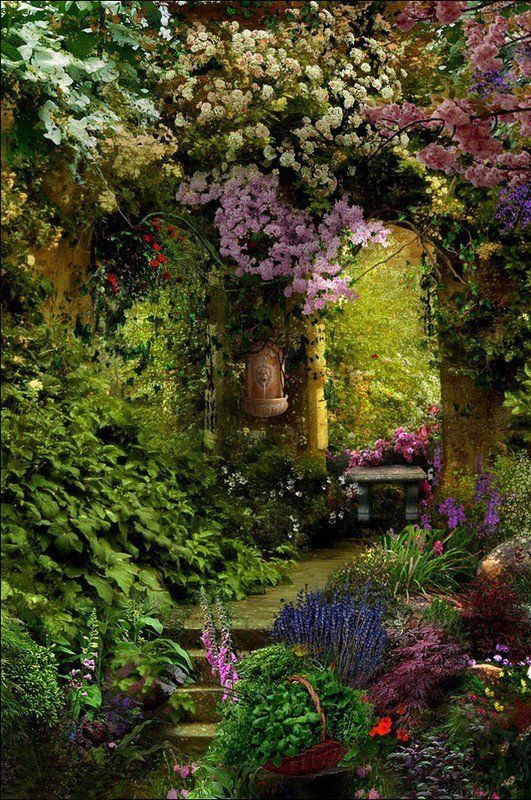 8 jardins arc en ciel reproduire chez soi astuces de filles for Jardin japonais chez soi