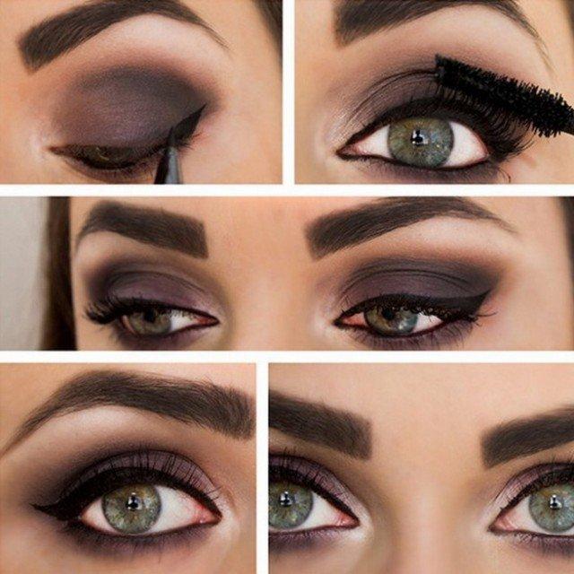 12 tutoriels tonnants de maquillage pour les yeux verts. Black Bedroom Furniture Sets. Home Design Ideas