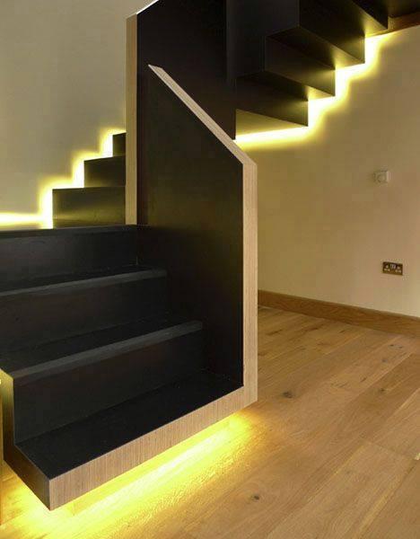 tendance optez pour les escaliers lumineux astuces de filles. Black Bedroom Furniture Sets. Home Design Ideas