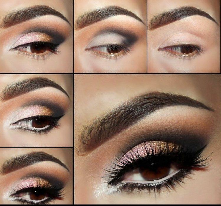 Maquillage Pour Mariee Yeux Marrons