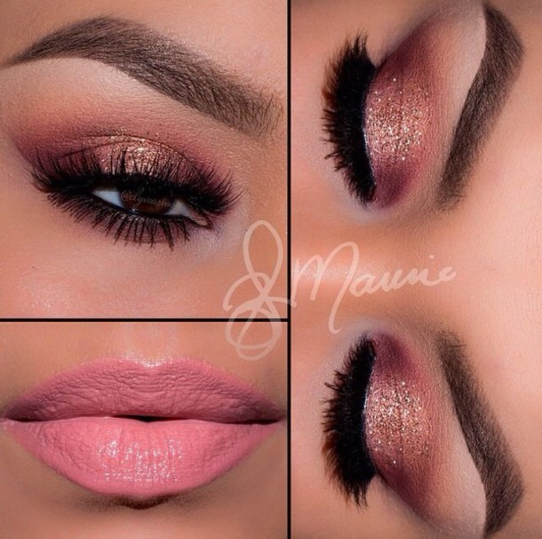 5feit6-l-610x610-make-love+look-real+cute-eyebrows-eyebrows+fleek-eye+makeup-eyes+make-eyelashes-eye+shadow-eyeliner-cute-perfecto-peach-shimmer-pink-gold-glitter-sparkly-sparkles-ombre-bright-colo