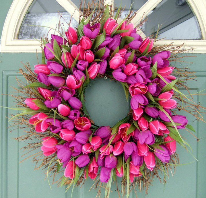 Tulips-Wreath