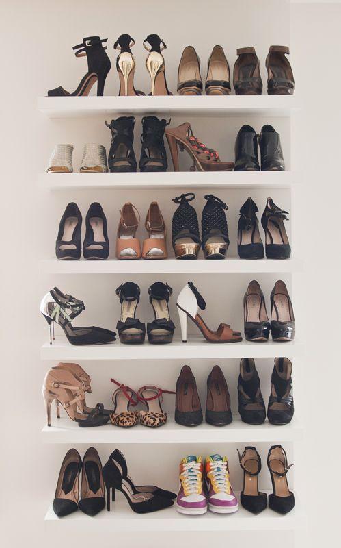 9 idées canons pour ranger vos précieuses chaussures