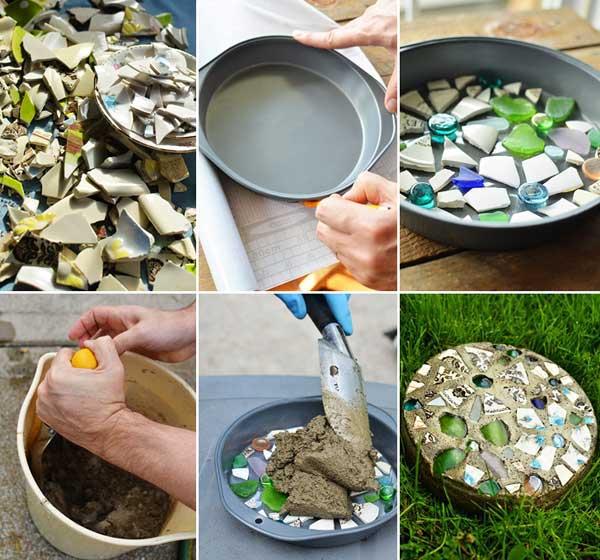12 Idées Pour Créer Une Déco Cosy Dans Son Salon Cet Hiver: 12 Idées Avec De La Mosaïque Pour Embellir Son Jardin