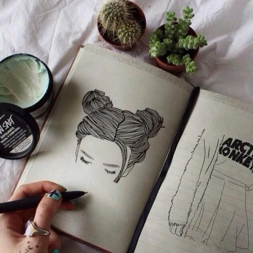 10 id es de dessins pour filles cool et simple faire astuces de filles - Idee de dessin a faire ...