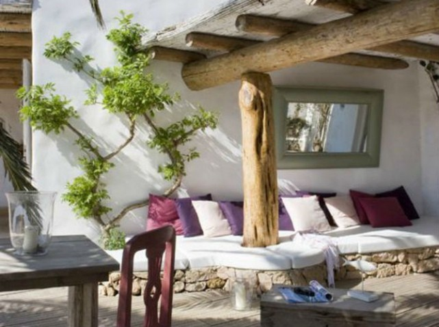 38 inspirations de d co pour votre terrasse cet t for Decoration pour terrasse