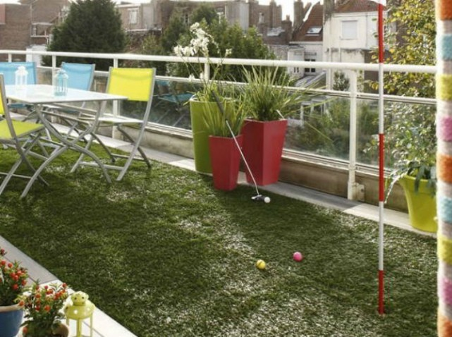 38 inspirations de d co pour votre terrasse cet t for Decoration terrasse