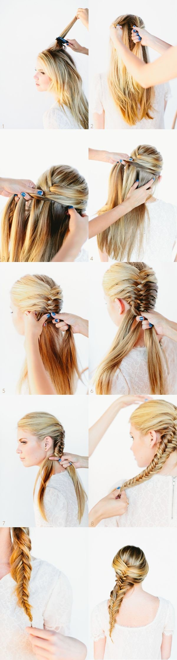 Braided-Hairstyles-Ideas-Messy-Side-Braids-Tutorial