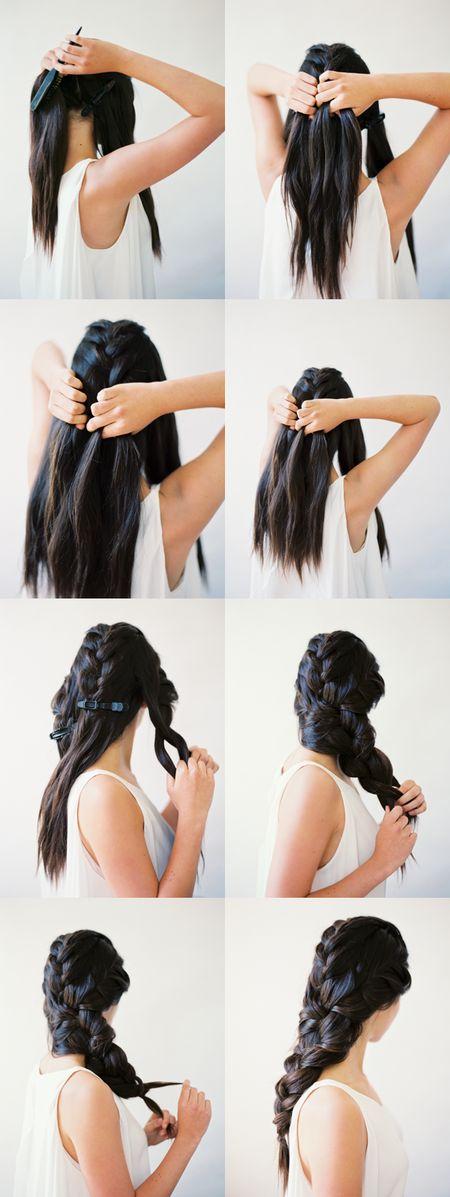 DIY-Beautifull-Big-Braid-Step-by-Step-Hair-Tutorial