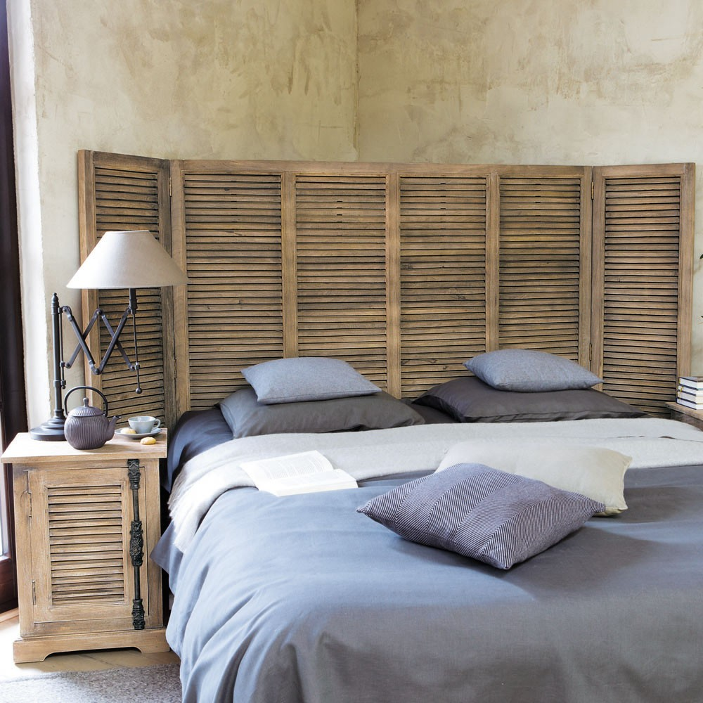 fabrication tete de lit en bois maison design. Black Bedroom Furniture Sets. Home Design Ideas