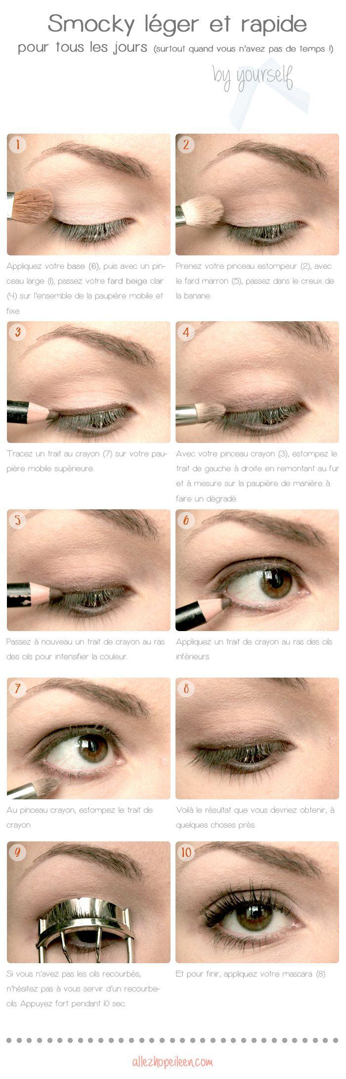 50 tutos maquillage naturels pour les pressées du matin