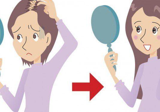 Le masque de loignon de la chute des cheveux la recette