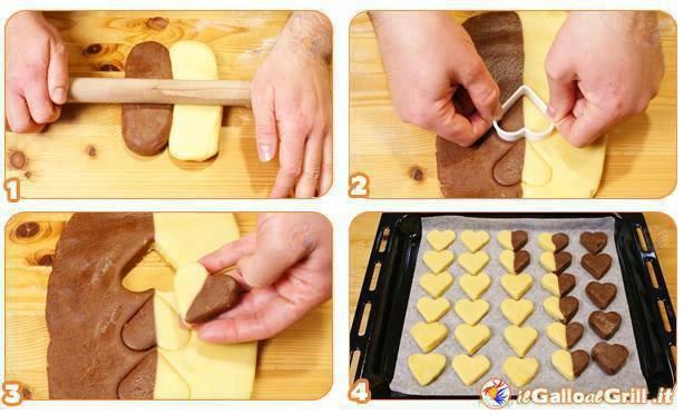 Cuisine sablés coeur
