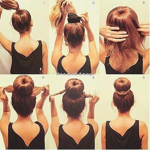 10 Tutos De Chignons Faciles A Faire