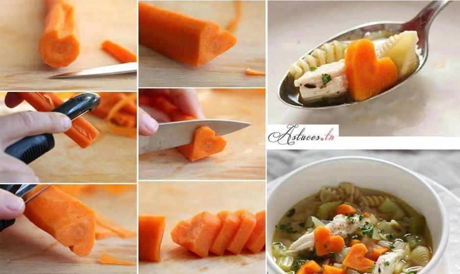cuisine carottes