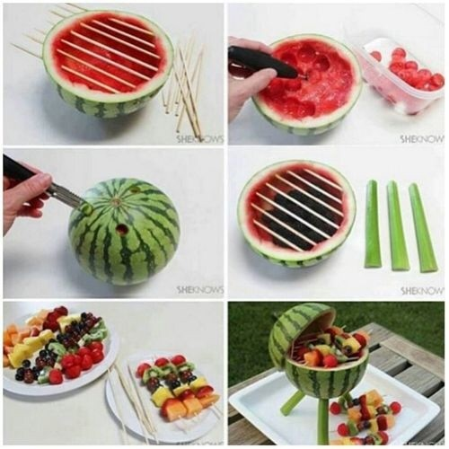 cuisine pastèque