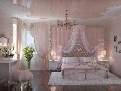 Beautiful Chambre Rose Pale Images - Home Decorating Ideas ...