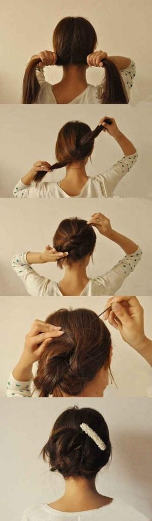 Ultra 100 tutos coiffures faciles à faire – Astuces de filles BV-04