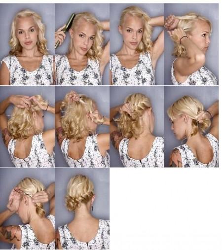 13 Tutos Pour Coiffer Ses Cheveux Courts A Mi Longs Astuces De Filles
