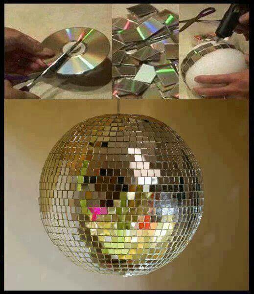 Souvent Déco DIY : 10 incroyables idées pour recycler vos CDs | Astuces de  CB49