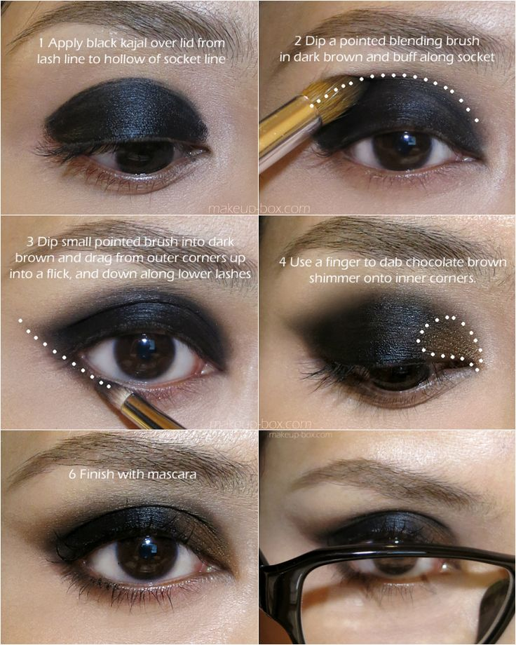 Célèbre 6 tutos maquillage géniaux pour celles qui portent des lunettes  ZA81