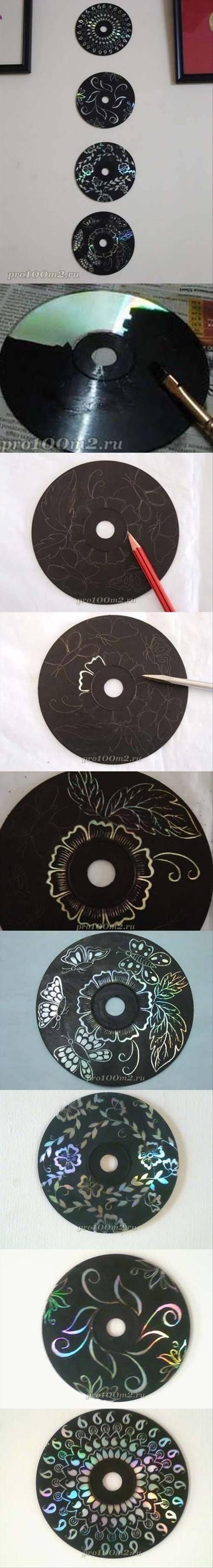 Excellent Déco DIY : 10 incroyables idées pour recycler vos CDs | Astuces de  AJ28
