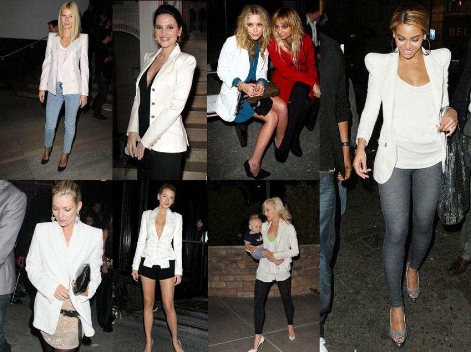 Comment porter veste blanche femme