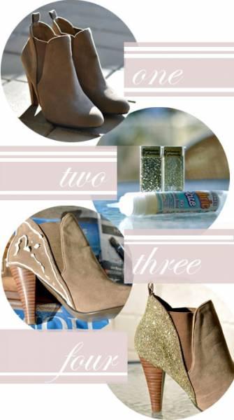 8 fa ons g niales de customiser ses chaussures astuces de filles page 9. Black Bedroom Furniture Sets. Home Design Ideas