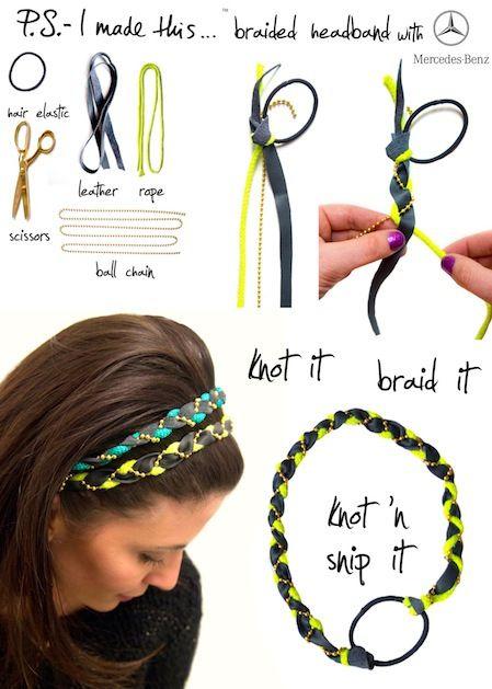 couleurs et frappant nouveaux articles plus tard 8 tutos headbands très faciles à faire soi-même – Astuces de ...
