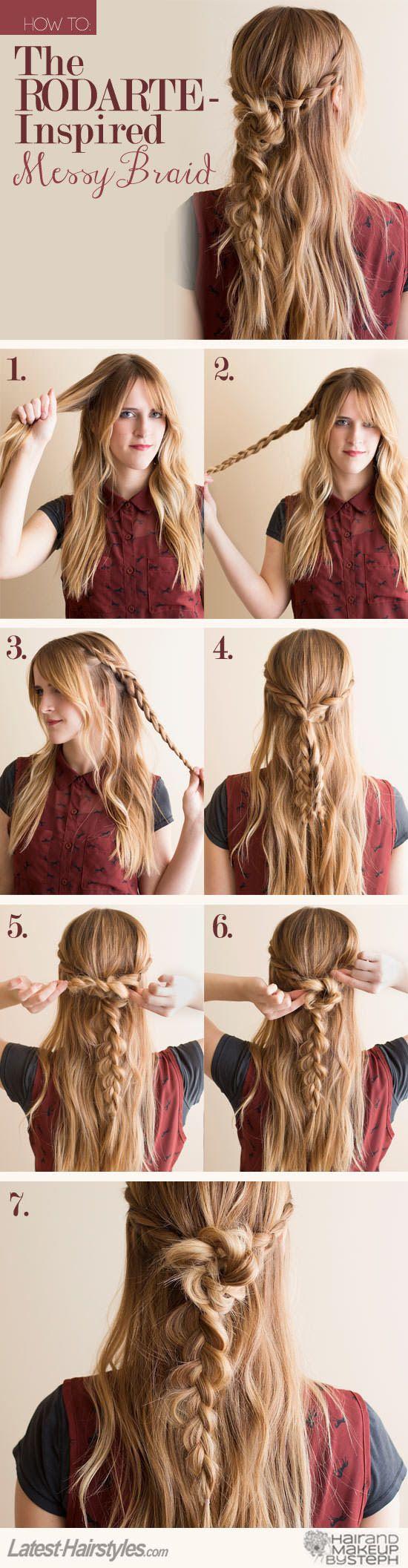 8 coiffure sirène